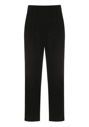Egrey cropped trousers - Black