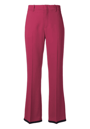 Gucci Viscose bootcut trousers - Pink