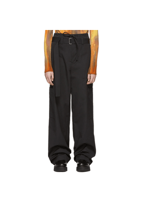 Ambush Black Cargo Trousers
