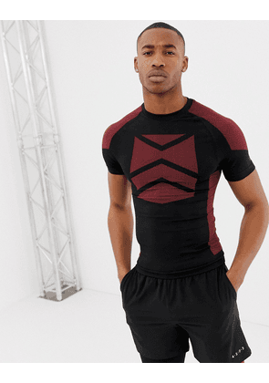 8857cdc1b63078 ASOS 4505 training muscle t-shirt with seamless knit