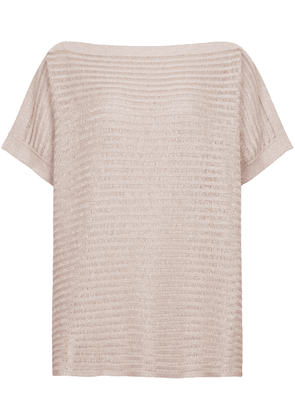 Reiss Anita - Off-the-shoulder Knitted Top in Neutral, Womens, Size S