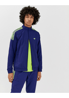 9e37a7811 adidas Originals Authentic Superstar Track Jacket In Blue DJ2857 ...