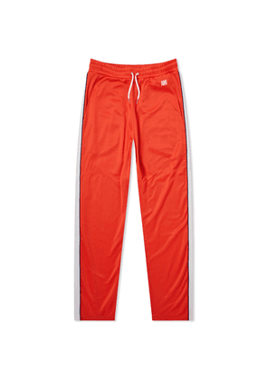 AMI Taped Track Pant Red