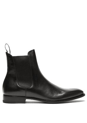 Dunhill - Leather Chelsea Boots - Mens - Black