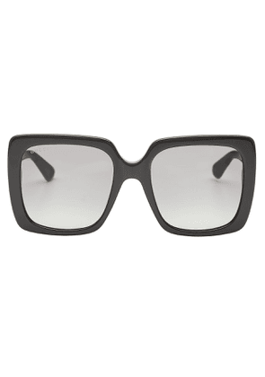 Gucci Square Sunglasses with Crystals
