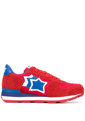 Atlantic Stars star patch sneakers - Red