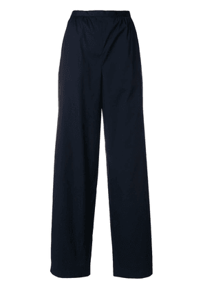 Prada wide leg trousers - Blue