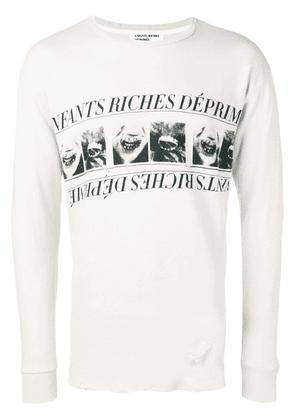 Enfants Riches Déprimés logo print sweatshirt - Neutrals