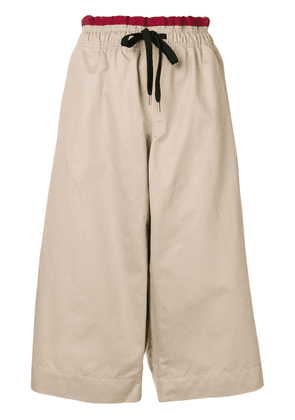 Marni cropped trousers - Neutrals