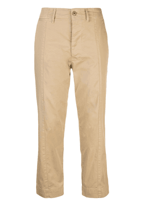 Alex Mill cropped trousers - Brown