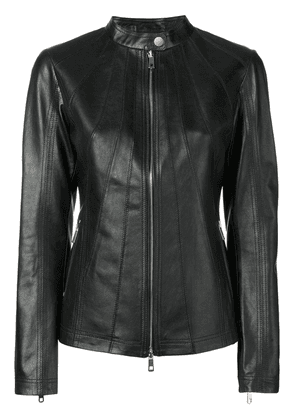 Desa 1972 fitted zipped jacket - Black