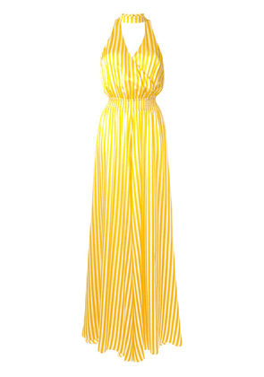Caroline Constas striped loose fit jumpsuit - Yellow
