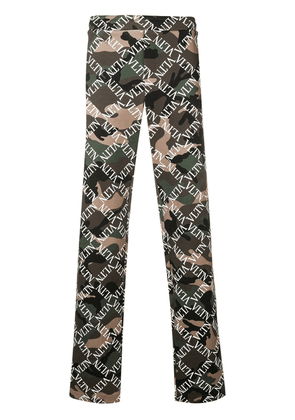 Valentino camouflage VLTN track pants - Green