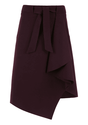 Egrey lace up skirt - Purple