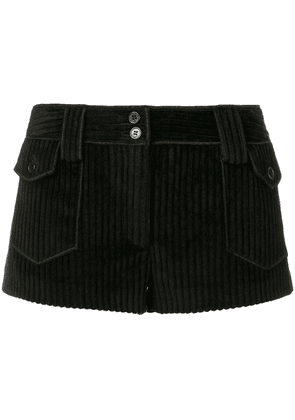 Saint Laurent vintage corduroy micro shorts - Black