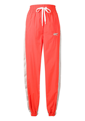 T By Alexander Wang tapered track trousers - Orange