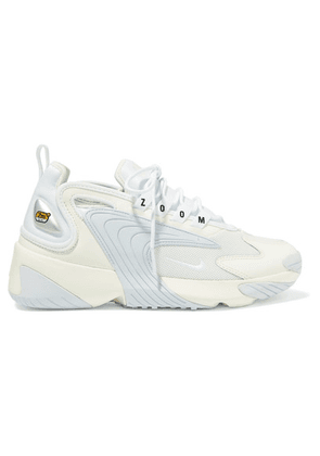 Nike - Zoom 2k Leather And Mesh Sneakers - Off-white
