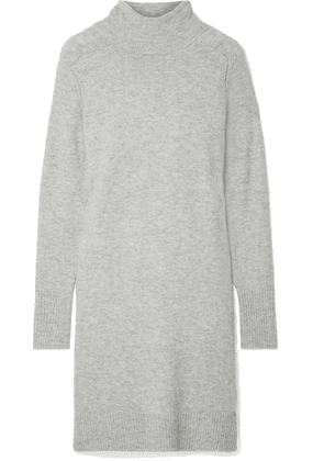 J.Crew - Lowell Knitted Turtleneck Dress - Gray
