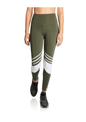 Spirit High-Rise Striped Performance Leggings