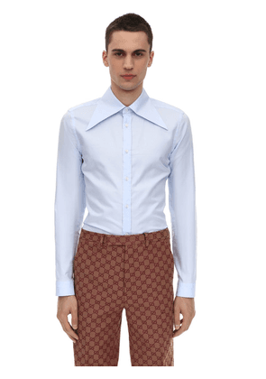 Pointed Collar Oxford Shirt