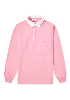 Battenwear Pocket Rugby Shirt Pink