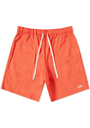 Battenwear Active Lazy Short Tomato
