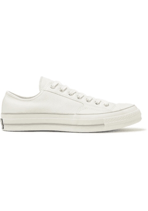 Converse - 1970s Chuck Taylor All Star Full-grain Leather Sneakers - Off-white