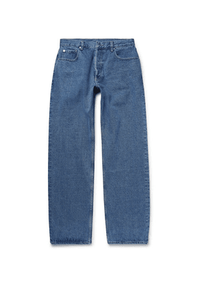 BILLY - Wide-leg Denim Jeans - Mid denim