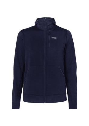 Patagonia - R1 Textured Jersey Hooded Base Layer - Navy