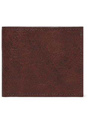 George Cleverley - 1786 Russian Hide Textured-leather Billfold Wallet - Brown