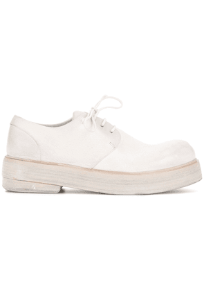 Marsèll platform lace-up shoes - White