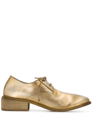 Marsèll gold leather brogues
