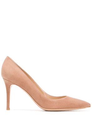Gianvito Rossi pointed toe pumps - Neutrals