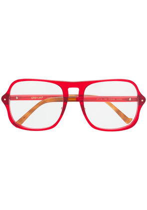 Grey Ant Coum glasses - Red