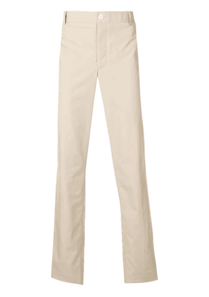 Thom Browne striped side panel chinos - Neutrals