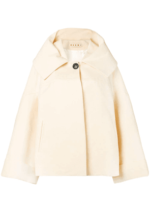 Marni front button jacket - 00W13 Antique White