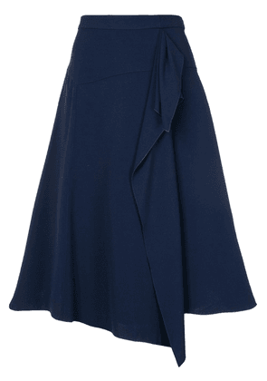 Delpozo flared A-line skirt - Blue