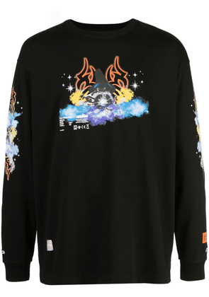 Heron Preston Tribal Wizard top - Black