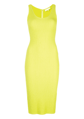 Christian Siriano midi fitted dress - Green