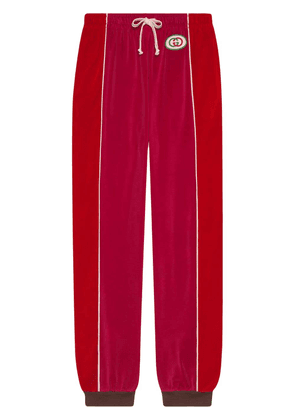 Gucci Chenille harem style pant - Pink