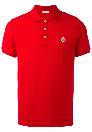 Moncler classic polo shirt - Red