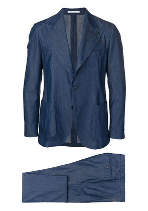 Gabriele Pasini two-piece denim suit - Blue