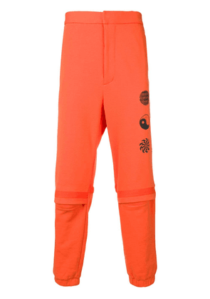 Ambush logo track pants - Orange