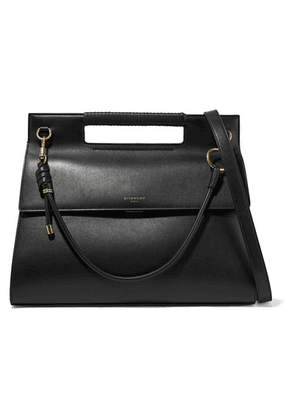 Givenchy - Whip Large Leather Shoulder Bag - Black