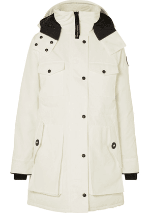 Canada Goose - Gabriola Hooded Quilted Shell Down Parka - White