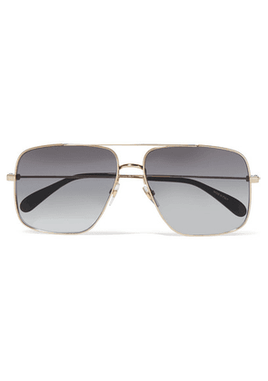 Givenchy - Oversized Aviator-style Gold-tone Sunglasses - one size