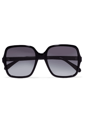 Givenchy - Oversized Square-frame Acetate Sunglasses - Black