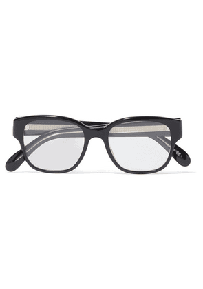 Givenchy - Square-frame Acetate Optical Glasses - Black