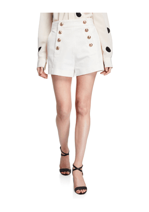 Sailor Shorts with Button Details