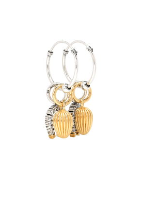Sterling silver charm earrings